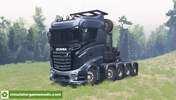 Spintires Scania R1000 Truck Simulator Games Mods Download