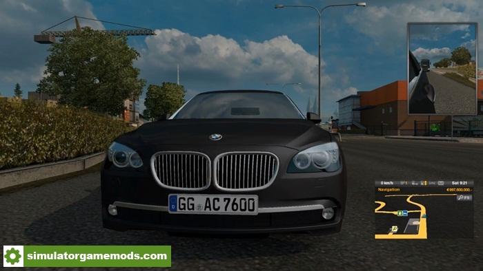 Ets 2 Bmw 760 Li Car Mod 128x Simulator Games Mods Download