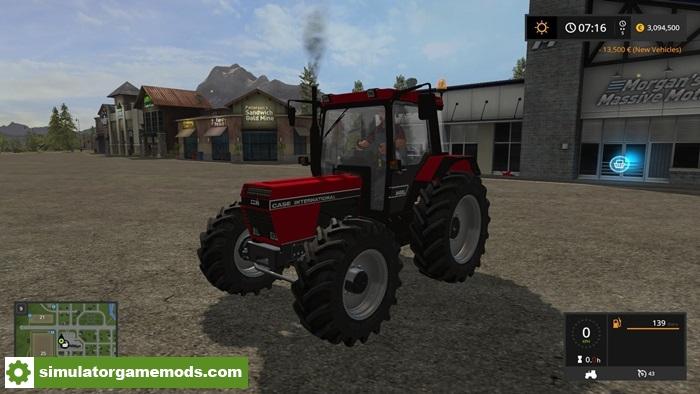 International Tractor Mods : Fs case ih xl tractor v simulator games mods