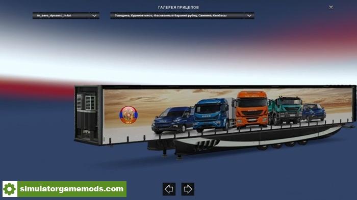 ETS 2 - Long Heavy 4 Axle Aero Dynamic Trailers Mod (1 28 X