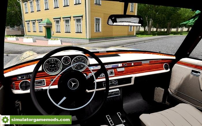 City car driving 1 5 4 mercedes benz 300sel car mod for Mercedes benz car racing games