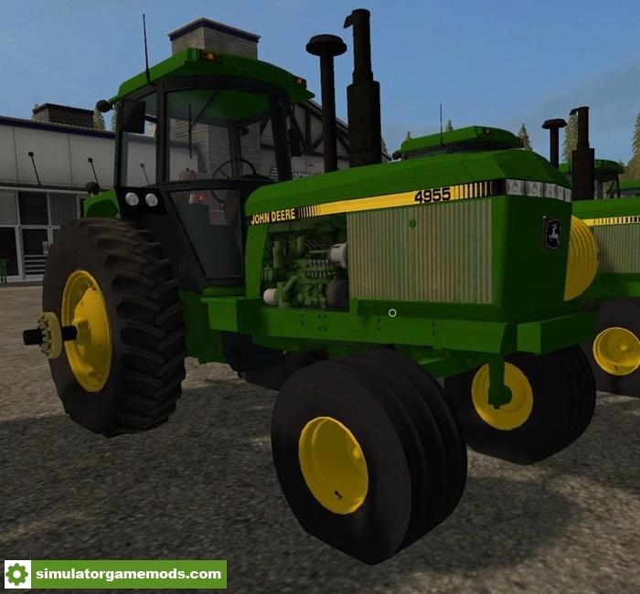 Car Simulator Games >> FS17 – Old Iron John Deere Series 2WD Tractor V1.0.0 – Simulator Games Mods Download