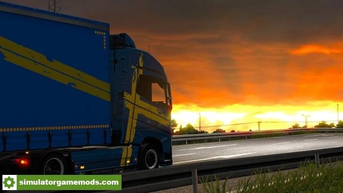 Car Simulator Games >> ETS 2 - Real Graphic Mod (1.28.X) | Simulator Games Mods