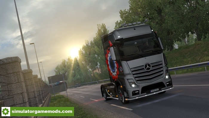 ETS 2 - Realistic Graphics Mod v1 8 1 With Addons (1 28 X