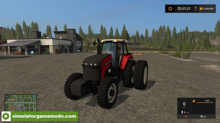 FS17 - Versatile Series Tractor V1 0 | Simulator Games Mods