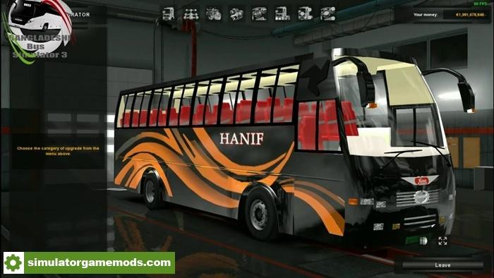 ETS 2 - Hino Ak1J Capsul Body Bus Mod with Bd Skin (1 30 X