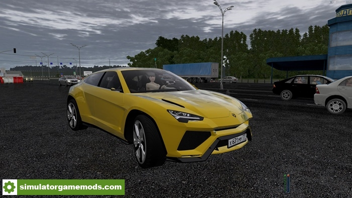 city car driving 1 5 4 lamborghini urus car mod simulator games mods download. Black Bedroom Furniture Sets. Home Design Ideas