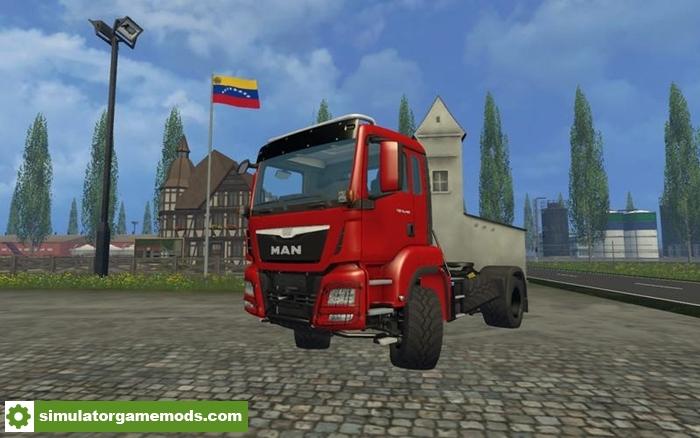 FS15 - Man Tgs 18 480 Truck V1 0 | Simulator Games Mods Download