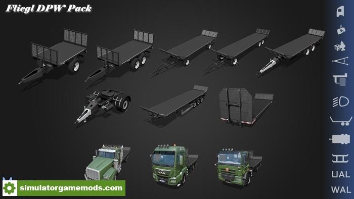 FS17 Fliegl DPW Pack V100 Simulator Games Mods