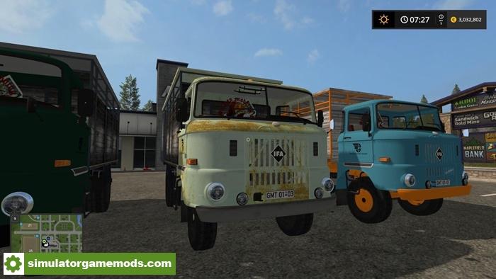 Fs17 Ifa W50 Viehtransporter V1 0 Simulator Games Mods