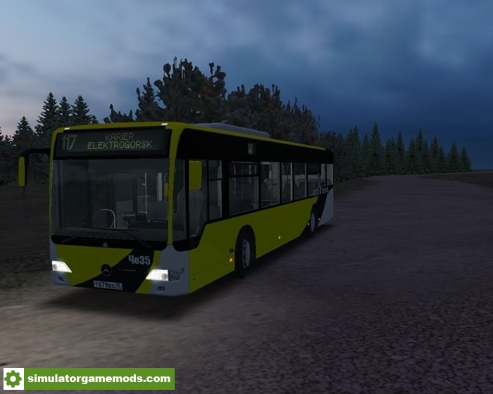 Driving Test Games >> Omsi 2 – Mercedes-Benz O530 Facelift Bus Mod | Simulator ...
