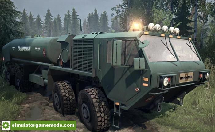 Spintires Mudrunner - Oshkosh M977HP v21.12.17 | Simulator ...