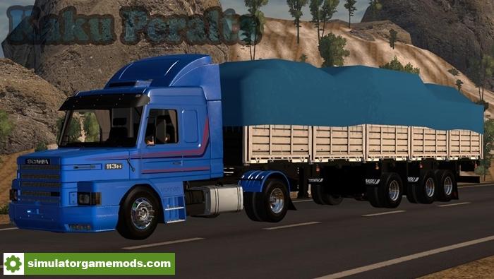scania 113 truck para haulin