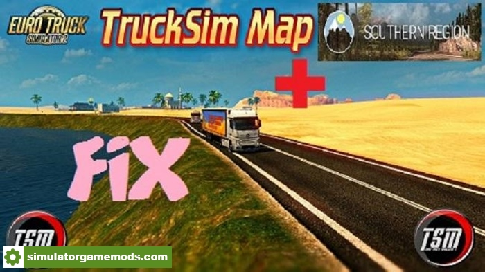 ETS 2 - Fix for Tsm 6 6 and Region 6 5 V2 0 (1 30 X