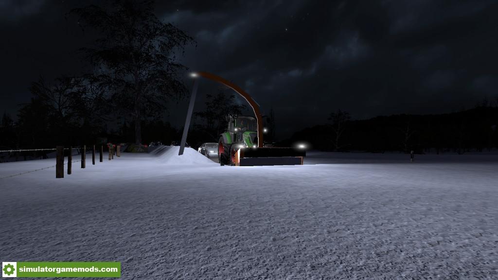 Car Driving Games >> FS17 – Biobeltz Sb 300 Snowblower V1.0 – Simulator Games Mods Download