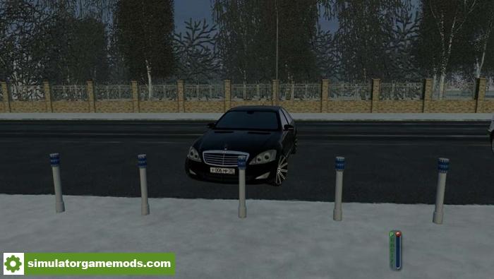 City car driving 1 5 5 mercedes benz w221 s550 car mod for Mercedes benz car racing games