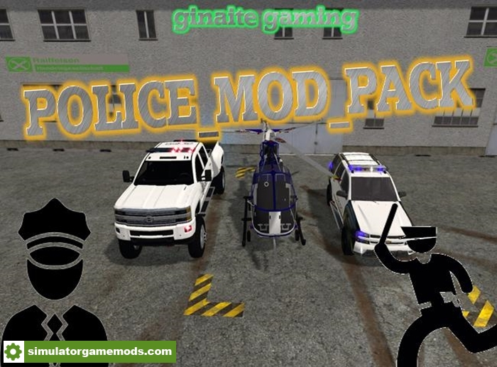 FS17 - Police Mod Pack Final | Simulator Games Mods Download