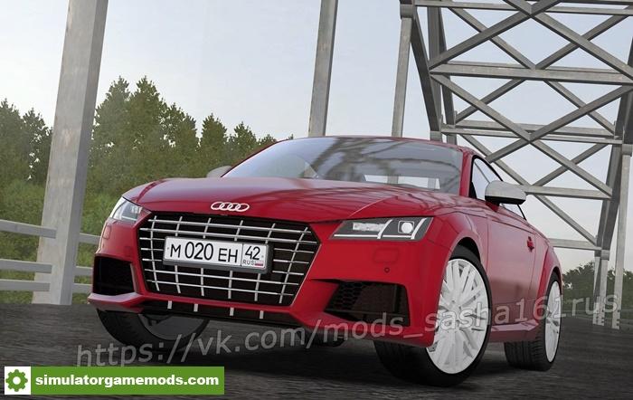 Audi Tt Rs Game: Audi TT RS 2018 Car Mod