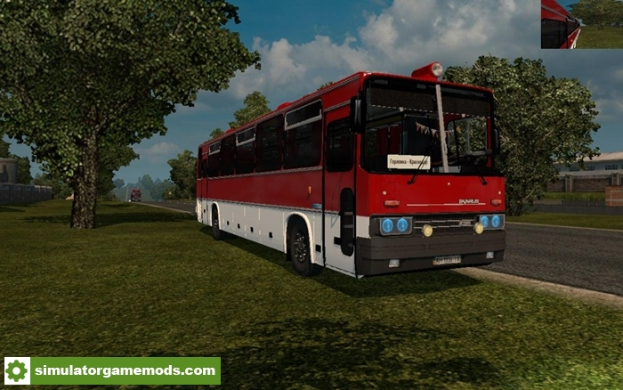 ETS2 - Ikarus 250-59 Bus Mod (1 30 X) | Simulator Games Mods