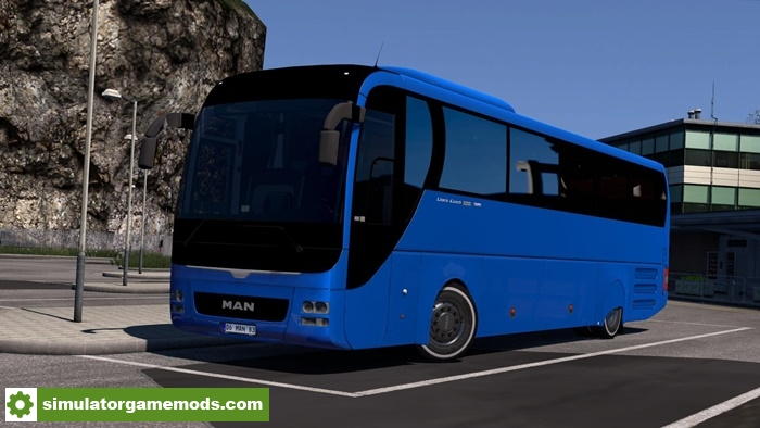 ETS 2 - Man Lion's Coach Euro 6 Bus Mod V2 0 (1 30 X