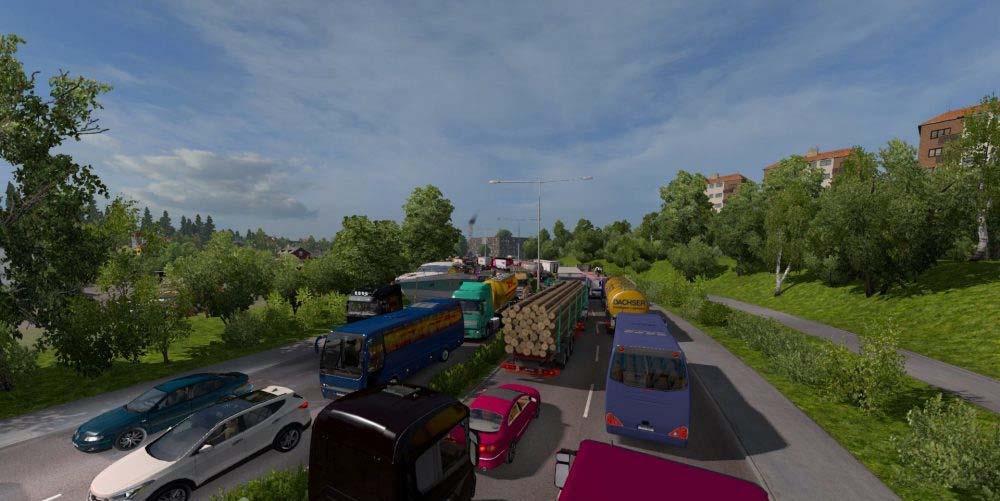 ETS2 - Greatest Traffic Mod (1 30 X) | Simulator Games Mods