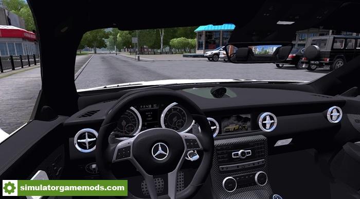 City car driving 1 5 5 mercedes benz slk55 car mod for Mercedes benz car racing games