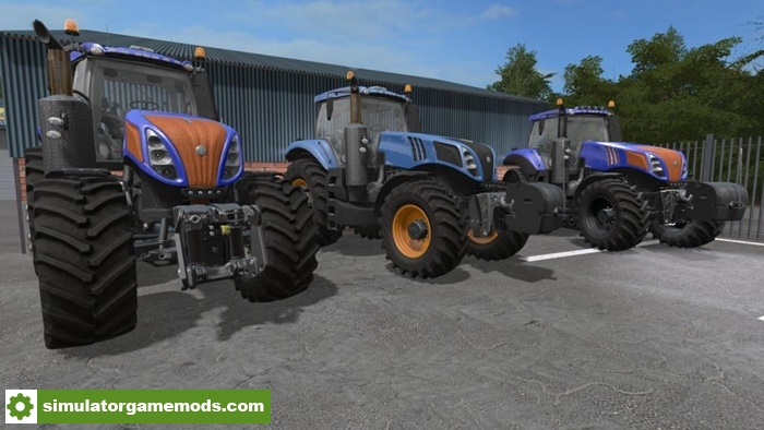 New Holland Tractor Specials : Fs new holland t fordson special tractor v