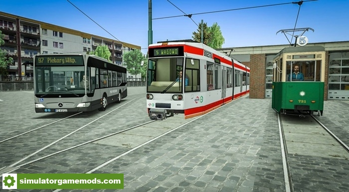 Omsi 2 – Nowe Piekary Bus & Tram | Simulator Games Mods Download