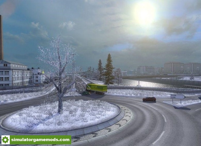 City Car Driving    Winter Mod Download