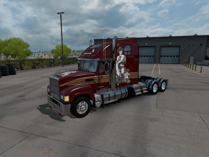 Car Simulator Games >> ATS – Mack Chu Cxu Truck V1 (1.31.X) – Simulator Games Mods Download