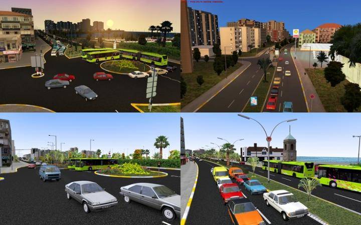 Omsi 2 - Belen Map V5 | Simulator Games Mods Download