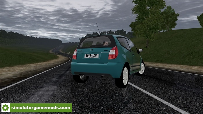 city car driving 1 5 5 citroen c2 vtr car mod simulator games mods download. Black Bedroom Furniture Sets. Home Design Ideas