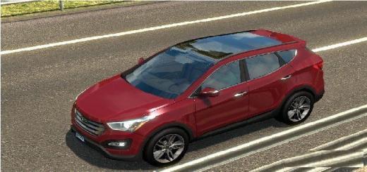 Hyundai Dealers In Ga >> ETS2 - Hyundai Santafe V1.0 (1.30.X) | Simulator Games