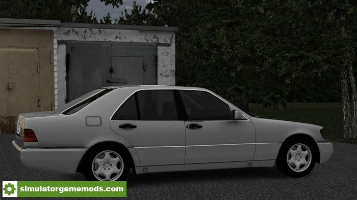 City car driving 1 5 5 mercedes benz s class w140 car for Mercedes benz car racing games