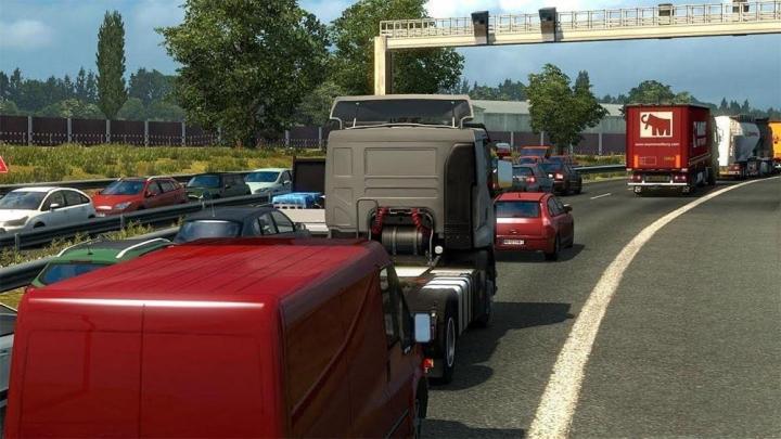 ETS2 - Hard Traffic Jam V1 (1 31 x) | Simulator Games Mods