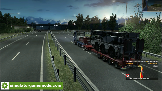 ETS2 - Scania R and S Next Generation 8x4 Chassis Heavy