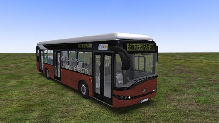 Omsi 2 - Solaris Urbino 12 Electric Bus Mod   Simulator Games Mods
