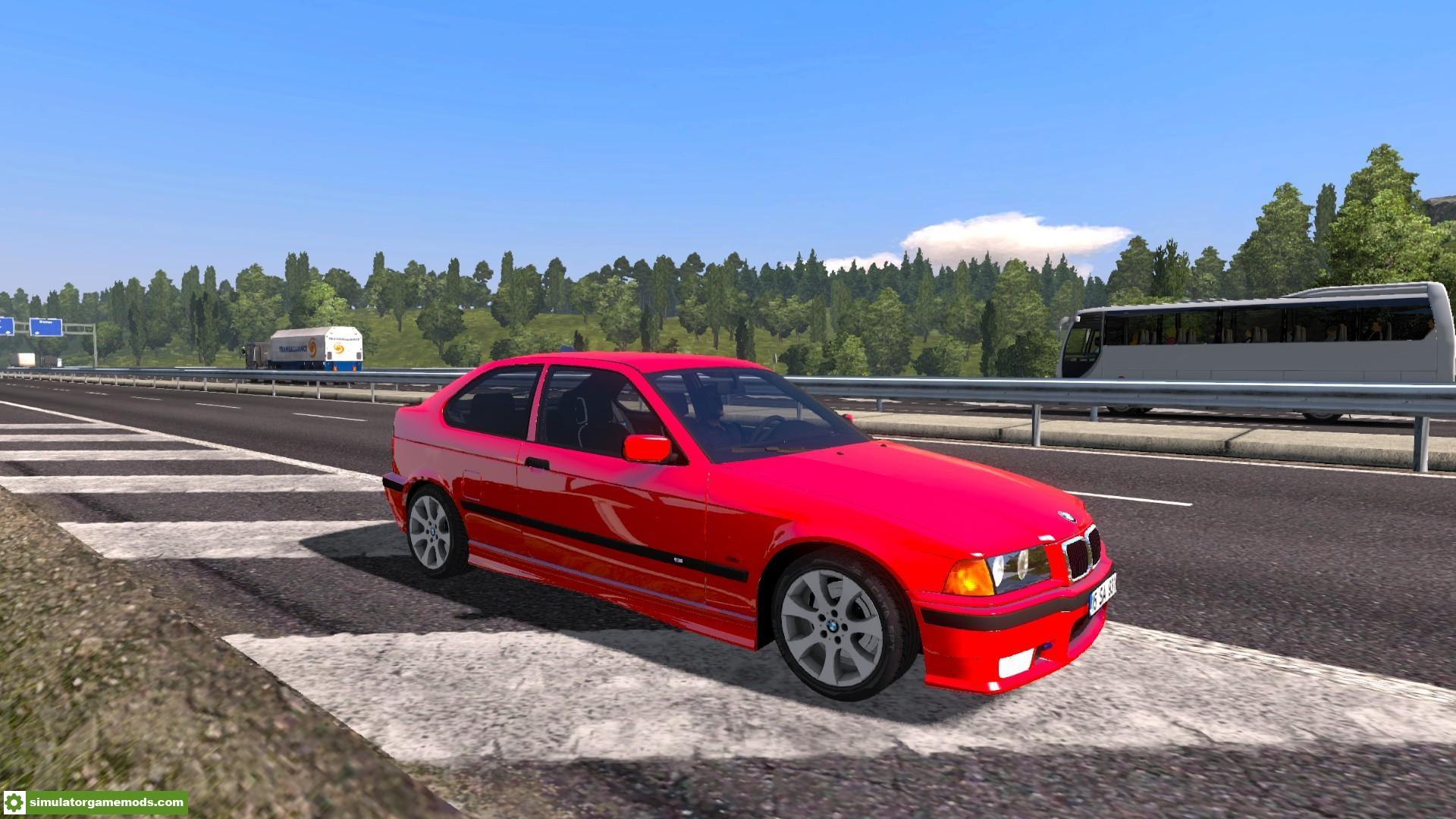 Ets2 Bmw E36 Compact V1 1 31 X Simulator Games Mods
