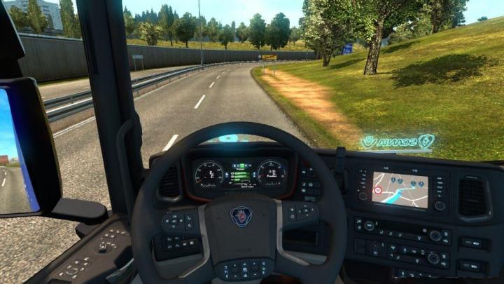 ETS2 - Custom Gps Navigator (1 31 x) | Simulator Games Mods