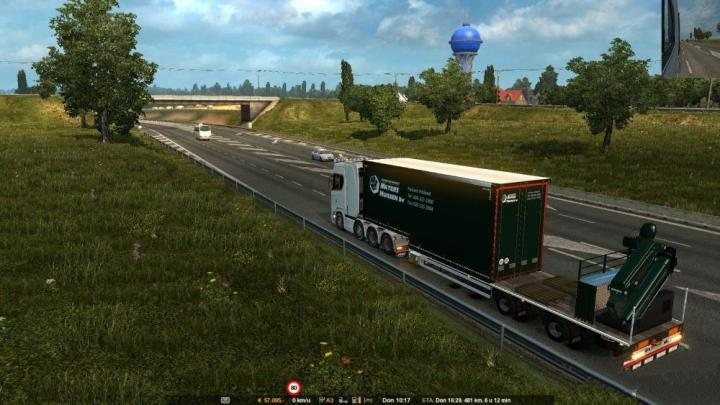 ETS2 - Maters Truck + Trailer In Traffic Mod (1 31 x