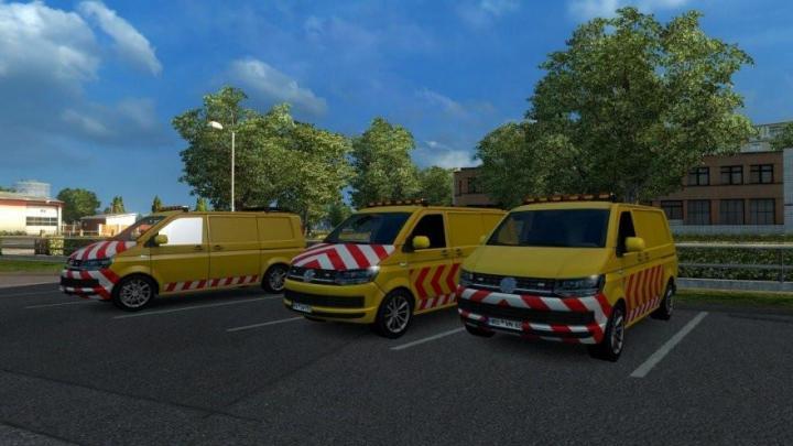 ETS2 - Volkswagen Escort In Ai Traffic (1 31 x) | Simulator