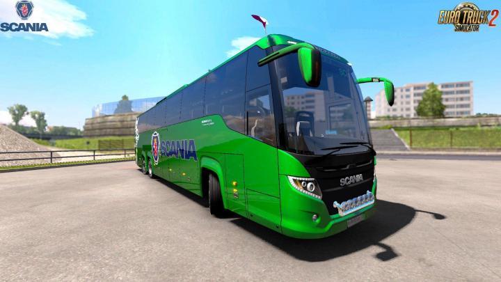ETS2 - Scania Touring Bus + Interior V1 (1 31 x) | Simulator