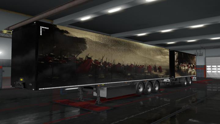 Scania Truck 2018 >> ETS2 – Mythologie Trailer Skins V1 (1.32.x) – Simulator Games Mods Download