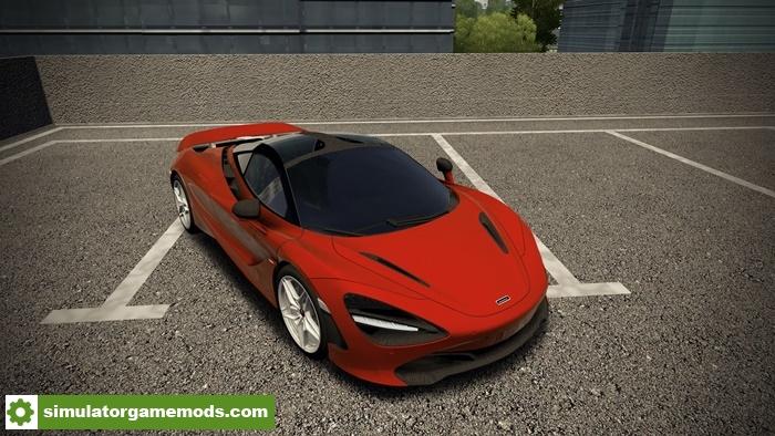 5db7100ba2d City Car Driving 1.5.6 - McLaren 720s 2018 Car Mod | Simulator Games ...