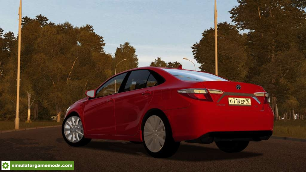City Car Driving 1.5.6 – Toyota Camry XLE 2017 Car Mod ...