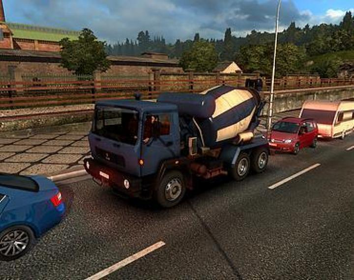 ETS2 - Ai Traffic Mod: Traffic Unlocks V1 (1 32 x) | Simulator Games