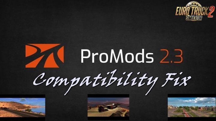 ETS2 - Promods 2 30 Compatibility Fix (1 32 x) | Simulator