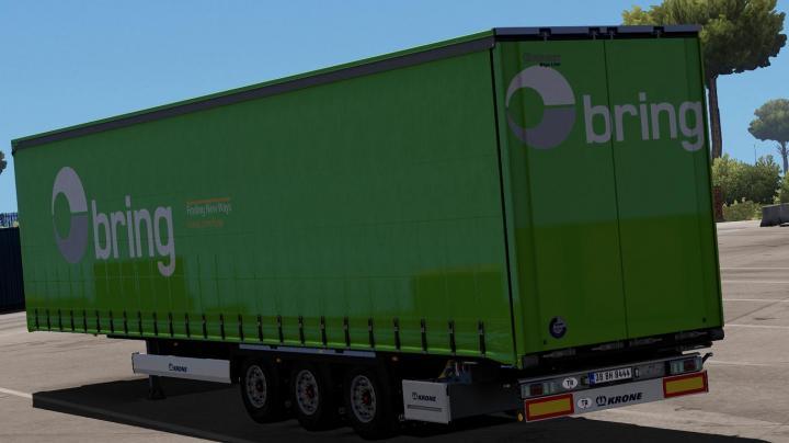 ETS2 - Krone Megaliner - Bring (1 32 x)   Simulator Games Mods Download