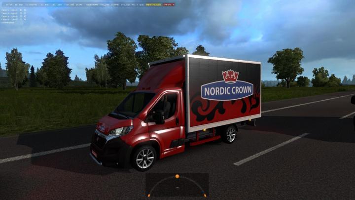 ETS2 - Minibuses And Vans In Traffic Mod (1 32 x