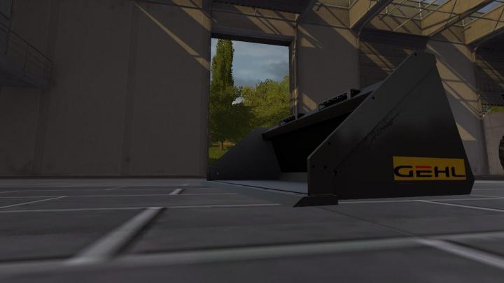 FS17 - Rusty Gehl Skidsteer Wbucket V1 | Simulator Games